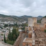 Scheherazade, the Chechen bodyguards and the Caliph go to Alhambra