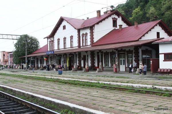 Itt ingáztunk: dési vasútállomás