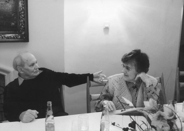Göncz Árpád és Zsuzsa néni