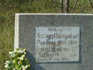 Sălăjan-Szilágyi nagyapám és feleségei...